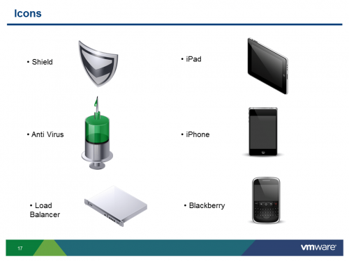 VMware PowerPoint Icons (15)