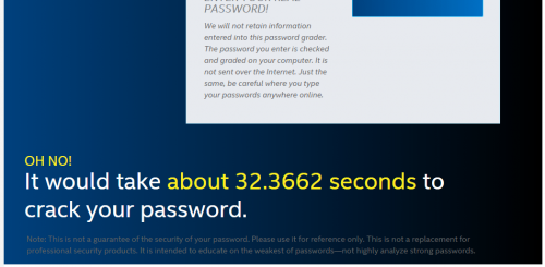 How Strong is Your Password (3)
