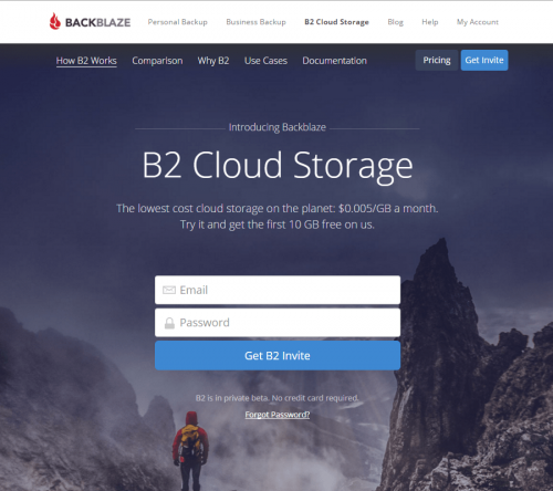 B2 Cloud Storage (1)